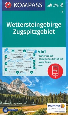 Kompass - WK 5 Wettersteingebirge - Zugspitzgebiet