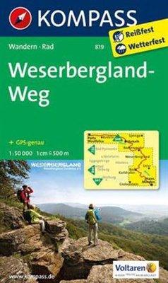 Kompass - WK 819 Weserbergerland-Weg