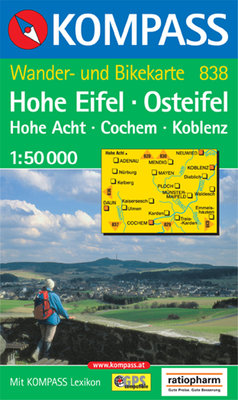Kompass - WK 838 Hohe Eifel - Osteifel