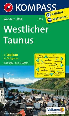 Kompass - WK 839 Westlicher Taunus