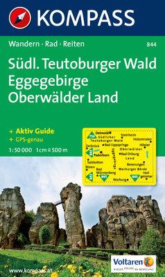 Kompass - WK 844 Südl. Teutoburger Wald - Eggegebirge - Oberwälder Land