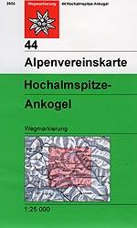 OeAV - Alpenvereinskarte 44 Hochalmspitze - Ankogel (Weg)