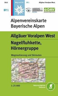 OeAV - Alpenvereinskarte BY01 Allgäuer Voralpen West