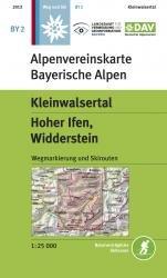 OeAV - Alpenvereinskarte BY02 Kleinwalsertal