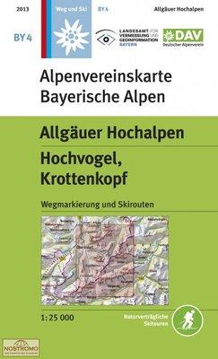 OeAV - Alpenvereinskarte BY04 Allgäuer Hochalpen