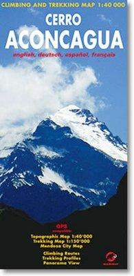 Climbing Map - Cerro Aconcagua