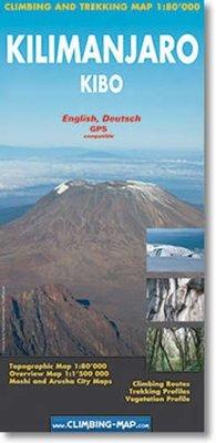 Climbing Map - Kilimanjaro