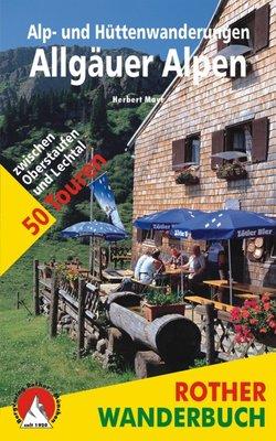 Rother - Alp- und Hüttenwanderungen Allgäuer Alpen wb
