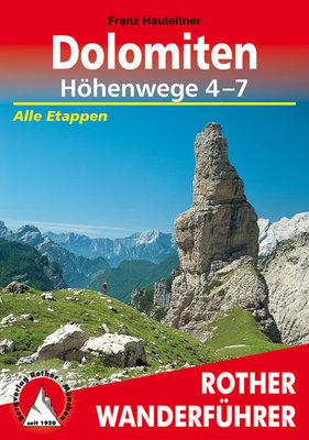 Rother - Dolomiten Höhenwege 4-7