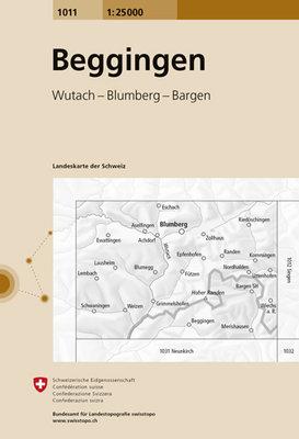 Swisstopo - 1011 Beggingen