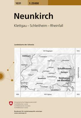 Swisstopo - 1031 Neunkirch