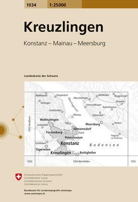 Swisstopo - 1034 Kreuzlingen