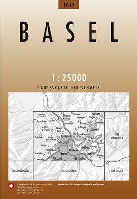 Swisstopo - 1047 Basel