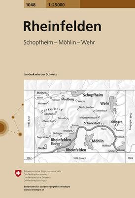 Swisstopo - 1048 Rheinfelden
