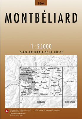 Swisstopo - 1064 Montbeliard