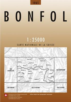 Swisstopo - 1065 Bonfol