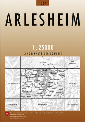 Swisstopo - 1067 Arlesheim