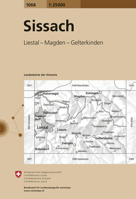 Swisstopo - 1068 Sissach