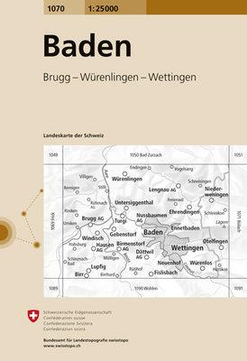 Swisstopo - 1070 Baden