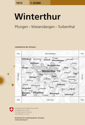 Swisstopo - 1072 Winterthur