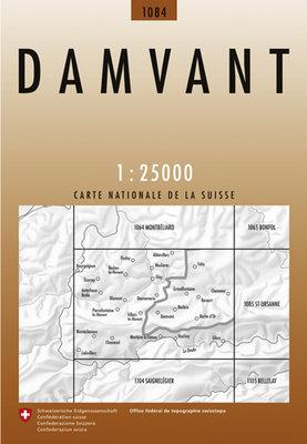 Swisstopo - 1084 Damvant