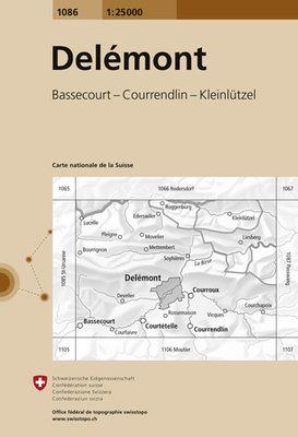 Swisstopo - 1086 Delémont