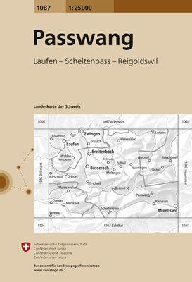 Swisstopo - 1087 Passwang