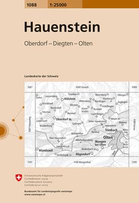 Swisstopo - 1088 Hauenstein