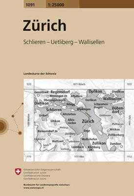 Swisstopo - 1091 Zürich