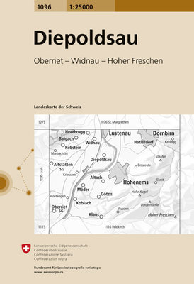 Swisstopo - 1096 Diepoldsau