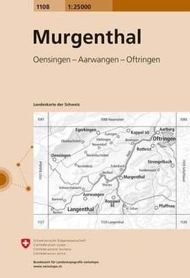 Swisstopo - 1108 Murgenthal
