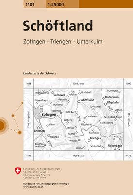 Swisstopo - 1109 Schöftland