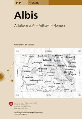 Swisstopo - 1111 Albis