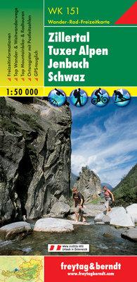 F&B - WK 151 Zillertal-Tuxer Alpen-Jenbach-Schwaz
