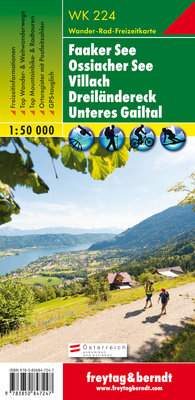 F&B - WK 224 Faaker See-Ossiacher See-Villach-Dreiländereck-Unteres Gailtal