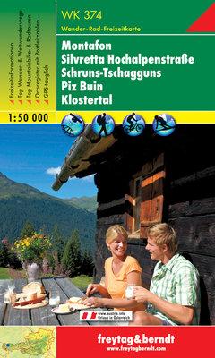F&B - WK 374 Montafon-Silvretta Hochalpenstraße-Schruns Tschagguns-Piz Buin-Klostertal