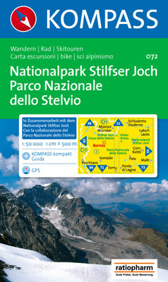 Kompass - WK 072 Nationalpark Stilfser Joch