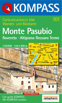 Kompass - WK 101 Rovereto - Monte Pasubio