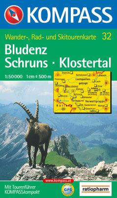 Kompass - WK 32 Bludenz - Schruns - Klostertal