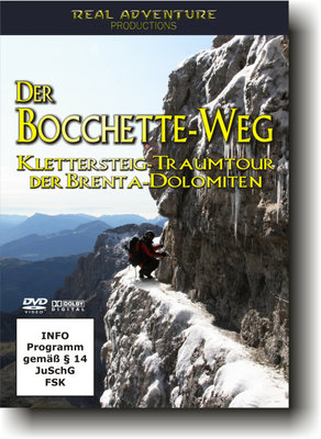Real Adventure - DVD Der Bocchette-Weg