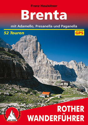 Rother - Brenta mit Adamello, Presanella und Paganella wf