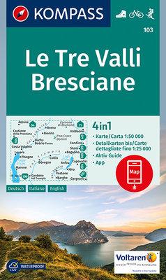 Kompass - WK 103 Le Tre Valli Bresciane