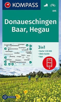 Kompass - WK 895 Donaueschingen - Baar - Hegau