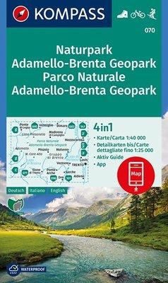 Kompass - WK 070 Adamello - Brenta NP
