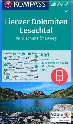 Kompass - WK 47 Lienzer Dolomiten - Lesachtal