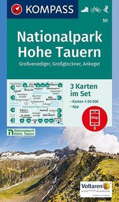 Kompass - WK 50 Nationalpark Hohe Tauern (set 3 kaarten)