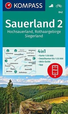 Kompass - WK 842 Rothaargebirge - Siegen - Wittgensteiner Land