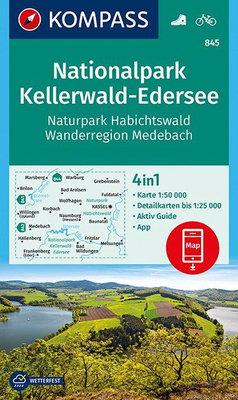 Kompass - WK 845 Nationalpark Kellerwald-Edersee