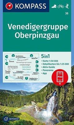 Kompass - WK 38 Venedigergruppe - Oberpinzgau