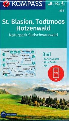 Kompass - WK 898 St. Blasien - Todtmoos - Hotzenwald